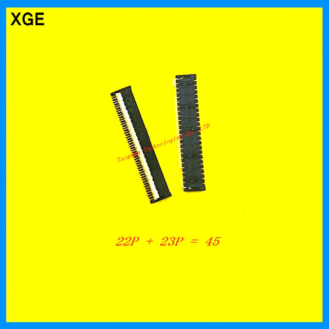 XGE New <font><b>FPC</b></font> FFC <font><b>Connector</b></font> Port Plug for touching on mainboard for HTC D820T D820U d820t/u 45P <font><b>repair</b></font> replacement image