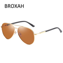 Mens Vintage Pilot Sunglasses Polarized Classic Brand Sun glasses Coating Lens Driving Shades For Men/Women Gafas De Sol