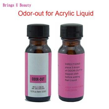 eb58c236e151 Arte de uñas acrílico líquido olor fuera olor de fragancia Rosa Odorizer  con cepillo de diseño