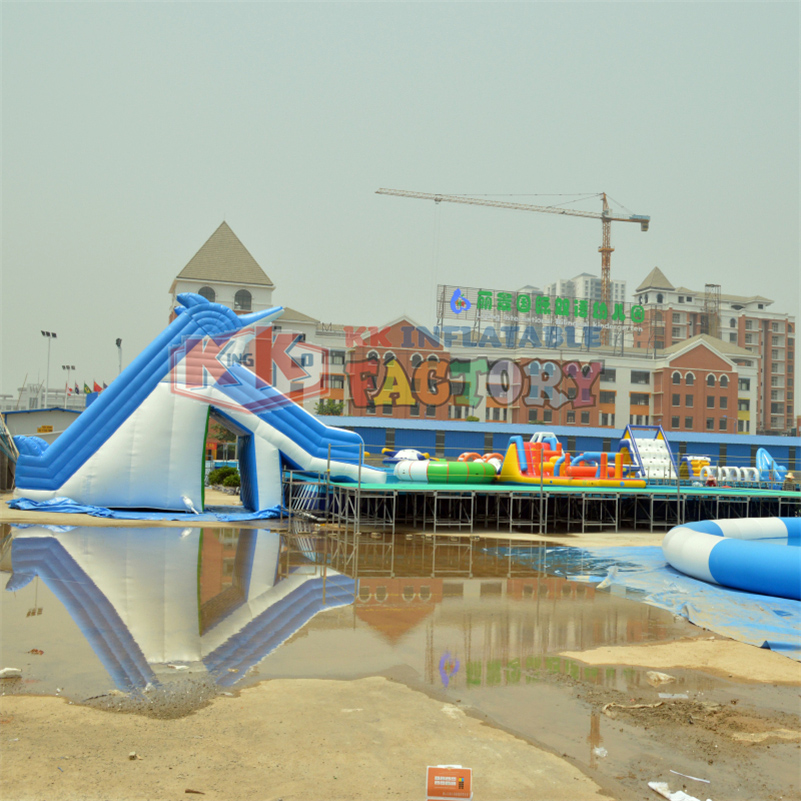 Pool Inflatable Slide Joy Park Holiday Recreation Fun Pool Park