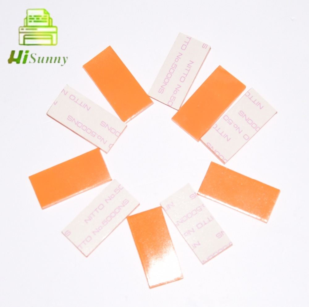 10pcs 019-11833 For Riso RZ RV RP FR GR HC RZ 200 220 230 300 310 330 370 390 EV 2550 3560 3750 ADF Separation Stripper Pad