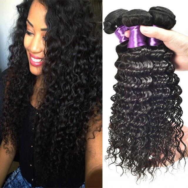 Pineapple Wave Hair Brazilian Deep Wave Virgin Hair Bohemian Human