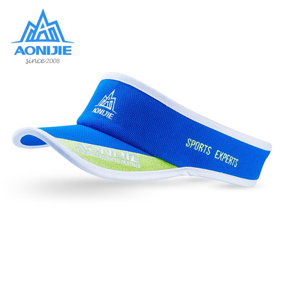 AONIJIE Women Men Summer Outdoor Sport Marathon Cap Ultralight Quick Dry  Running Hat Golf Tennis UV Sun Hat-in Running Caps from Sports    Entertainment on ... 0e9871d48a90
