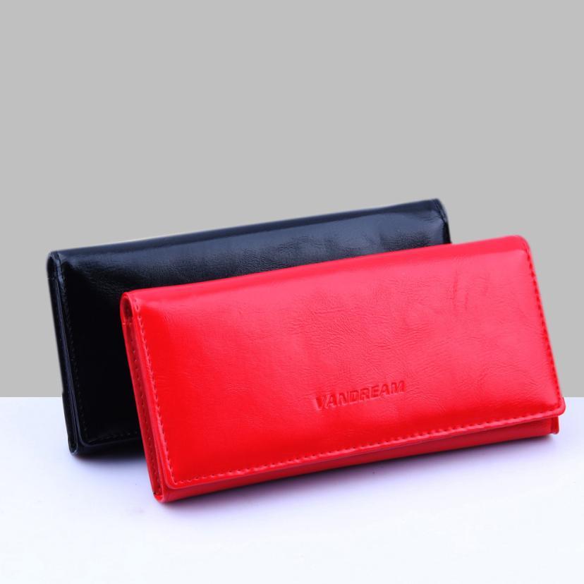 New Arrival Women Clutch Card Holder 2018 Hot Sale Wallets Change Bag Ladies Leather Purse Handbag Wallet carteira feminina S
