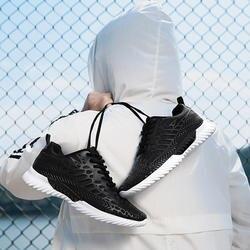 Летняя повседневная мужская обувь спортивные мужские повседневные дышащие кроссовки суперлегкие Нескользящие черные белые кроссовки