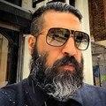 Afofoo new homens dos óculos de sol do vintage grande quadro óculos de sol das mulheres marca de luxo designer de óculos oversized shades óculos de sol uv400