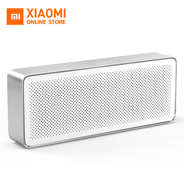 Original Xiao mi Altavoz Bluetooth básico 2 Caja cuadrada 2 portátil Bluetooth 4,2 HD de alta definición y calidad de sonido jugar