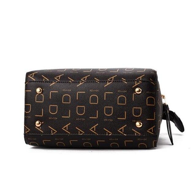 Designer Women PU Top-Handle Leather Bag