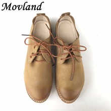 Hot sale,2016 new autumn retro classic simplicity with the top layer Genuine leather shoes handmade low shallow mouth