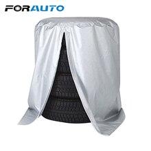 Автомобильных шин сумка для хранения пыли автомобиля Чехол запасного колеса колесо протектор автомобиль-Стайлинг серебро Водонепроницаемый зима летние шины сумка
