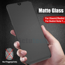 Matte Frosted Tempered Glass For Xiaomi Redmi Note 7 6 5 Pro Pocophone F1 Mi 9 8 SE A2 Lite Max 3 Screen Protector Film все цены