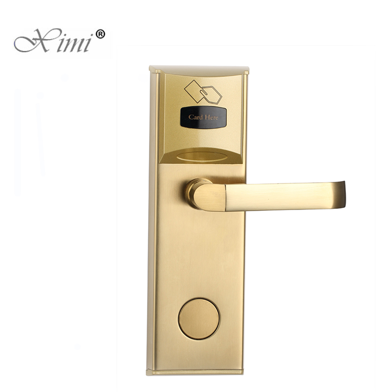 Good Quality Hot Sale Smart RFID Card Hotel Door Lock Electric Hotel Lock System With Free SoftwareGood Quality Hot Sale Smart RFID Card Hotel Door Lock Electric Hotel Lock System With Free Software