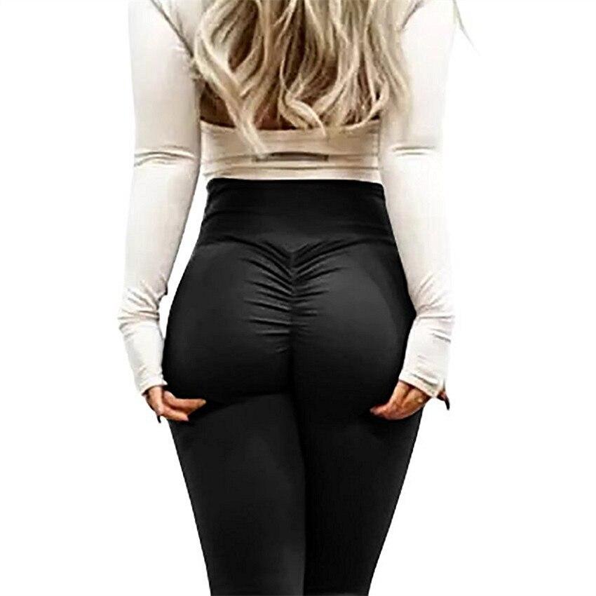 OULYLAN Slim   Leggings   Push up Pants Women Leggins Pants Hip Up Fitness High Waist   Leggings   Sport Trousers Sportwear Bodycon