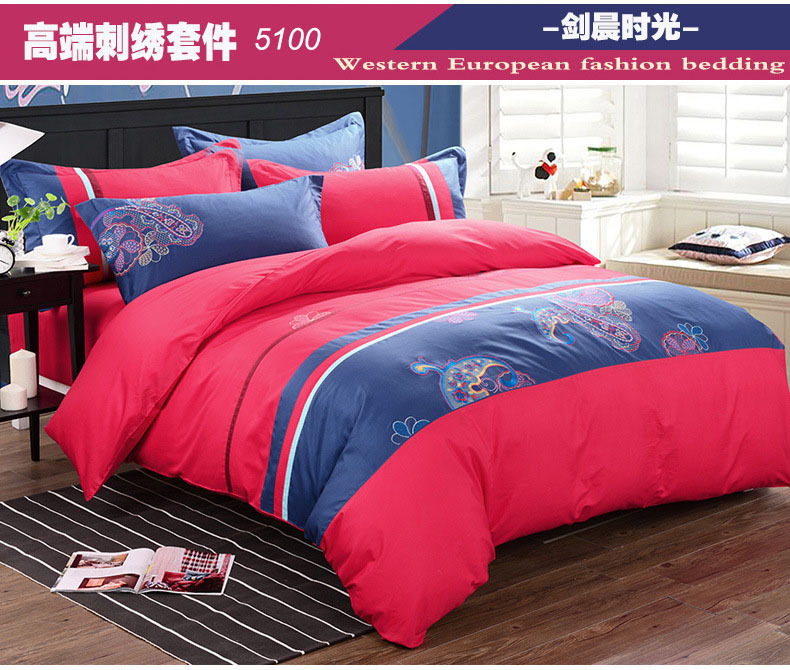 Queen Size Down Comforter Picture More Detailed Picture About - Blue solid color king size comforter