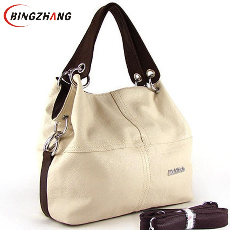 New 2017 Retro Vintage Women's Leather Handbag Tote Trendy ...