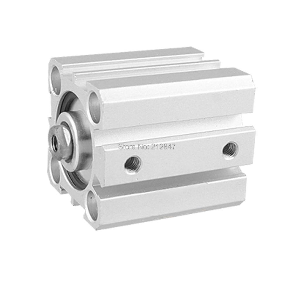 SDA 25x25 Double Action 25mm Bore 25mm Stroke Thin Air Cylinder 25mm bore 45mm stroke double action thin air cylinder