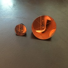 Dia 64mm Height 48mm BK7 Copper Coated 1 inch Corner Cube Prism Trihedral Retrorefector 5 arc secs Return beam цена