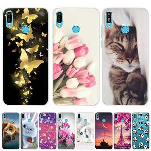 for Huawei Y6 2019 Case Huawei Y6 2019 Silicone Cover Soft Phone Case For Huawei