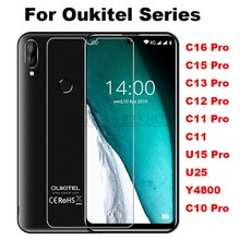 Tempered Glass for Oukitel C16 C15 C13 C12 U15 U23 C10 C11 PRO Y4800 2.5D 9H Protective Film Explosion-proof Screen Protector(China)