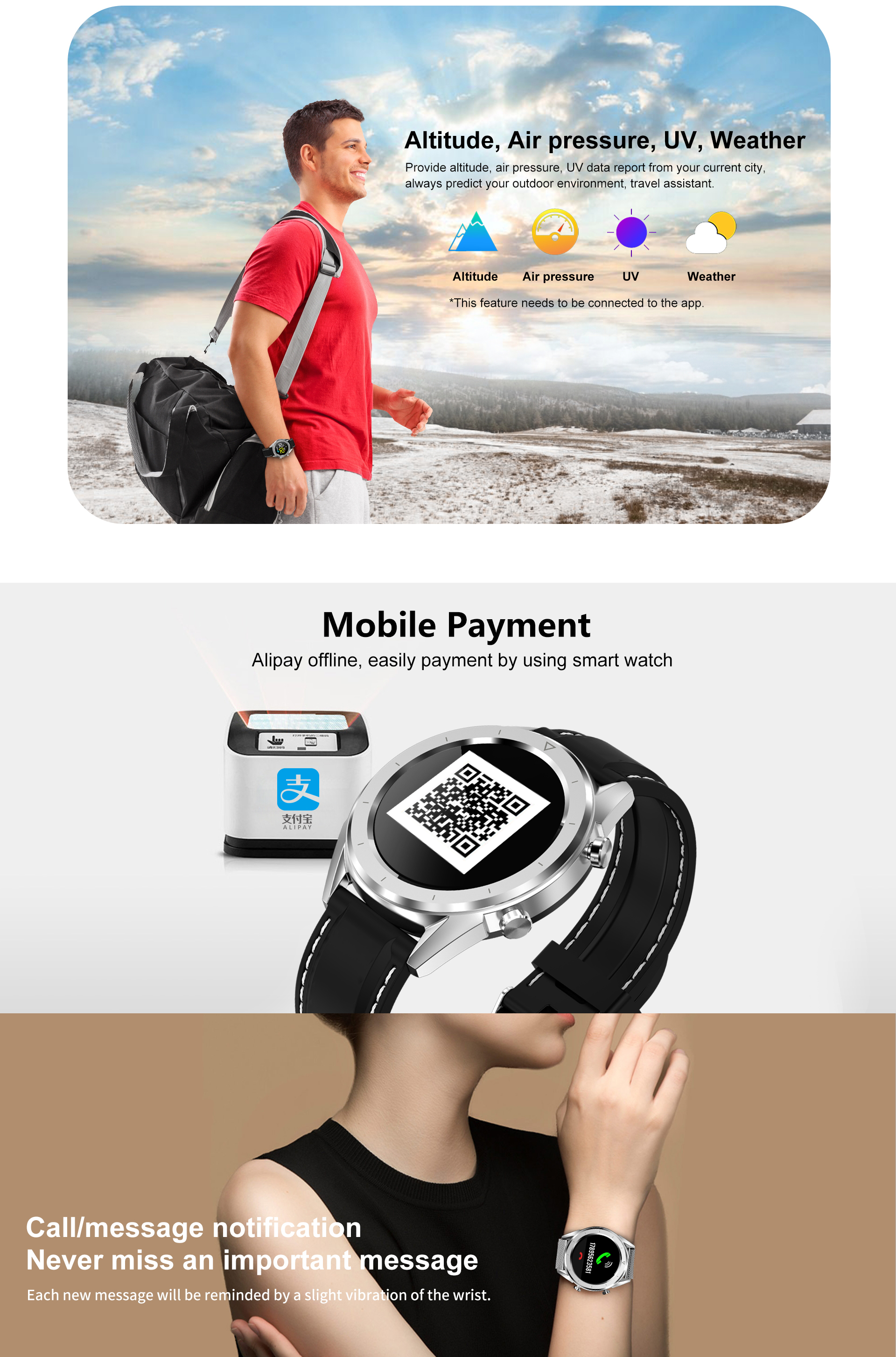 2019 DT28 Smartwatch Cheep bluetooth android/ios phones 4g waterproof touch  screen sport Health Smart Watch
