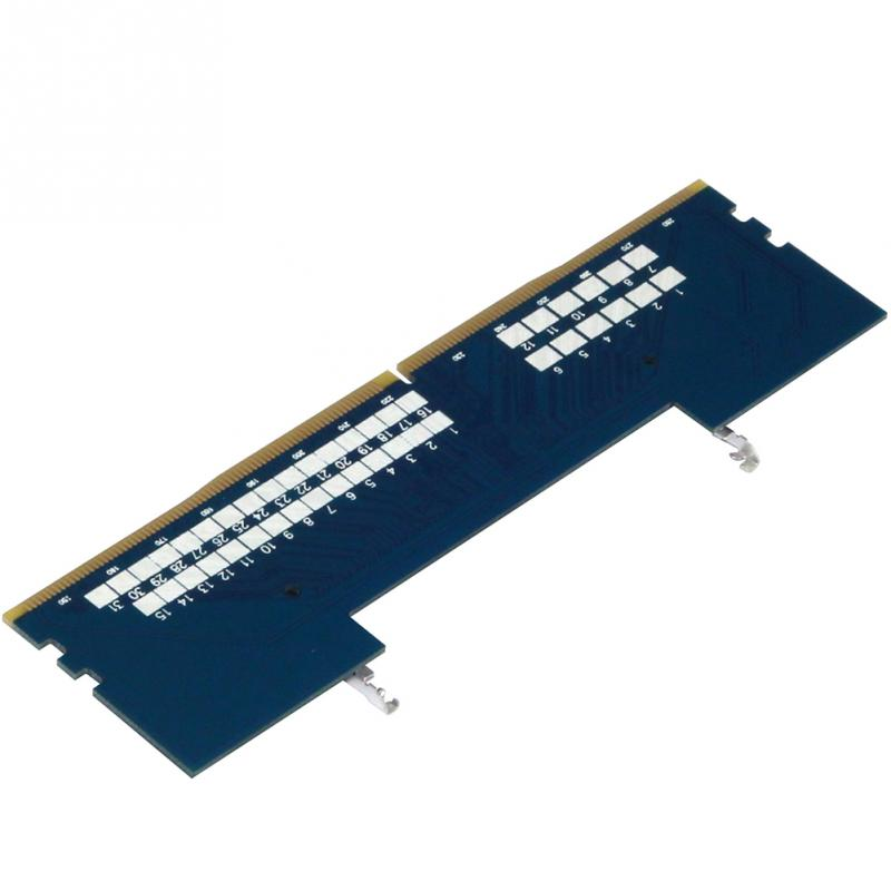 Image 4 - PCB DDR4 Blue Adapter Card Converter RAM Connector Memory Tester Supports 2133Mhz Over Current Protection For JEDEC-in RAMs from Computer & Office