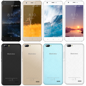 """Image 5 - Blackview A7 telefon komórkowy Android 7.0 MTK6580A czterordzeniowy 5.0 """"1 GB 8GB 3 kamery 3G WCDMA 2800mAh smartfon dual sim"""