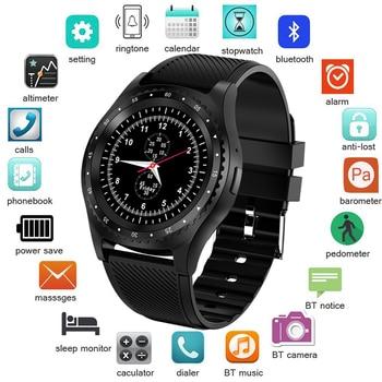 LIGE 2019 nouvelle montre intelligente hommes femmes Bluetooth écran tactile étanche sport Smartwatch Support carte SIM Reloj inteligente + boîte