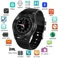 LIGE 2019 nuevo Reloj inteligente hombres mujeres Bluetooth pantalla táctil impermeable deportes Smartwatch soporte tarjeta SIM Reloj inteligente + caja