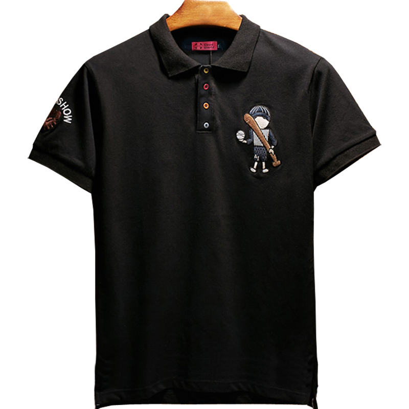 Plus <font><b>Size</b></font> 5XL 6XL 7XL 8XL Bust 155cm Brand <font><b>Polo</b></font> <font><b>men</b></font> Cotton Short Embroidery <font><b>polo</b></font> <font><b>shirt</b></font> <font><b>Big</b></font> <font><b>Size</b></font> XXL XXXL 4XL 5XL 6XL image