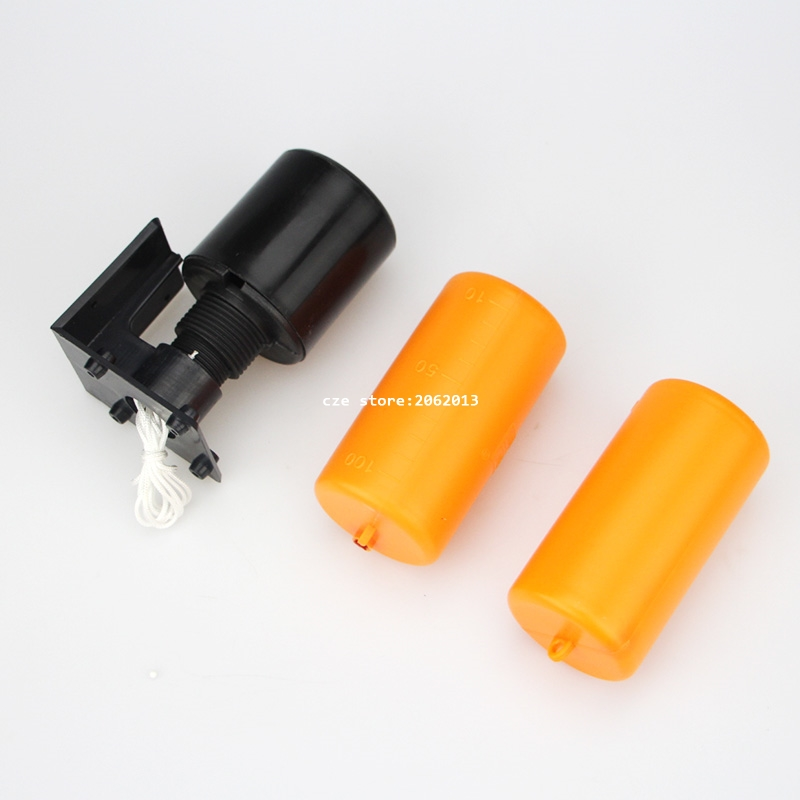 Free Shipping 1.2M Double Ball Float Switch Liquid Fluid Water Level Float Switch Controller Contactor Sensor 70AB liquid water level sensor 1 2 pt thread plastic float valve ball