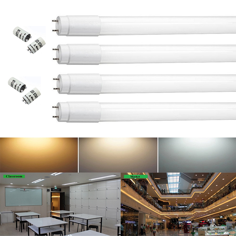 2018 Top Fashion Direct Selling LED Tube 1.2m Ce Rohs Maidodo 10-pack 9w/13w/18w/22w for Nano Led Light Tubes Nature Cool Warm e cap aluminum 16v 22 2200uf electrolytic capacitors pack for diy project white 9 x 10 pcs
