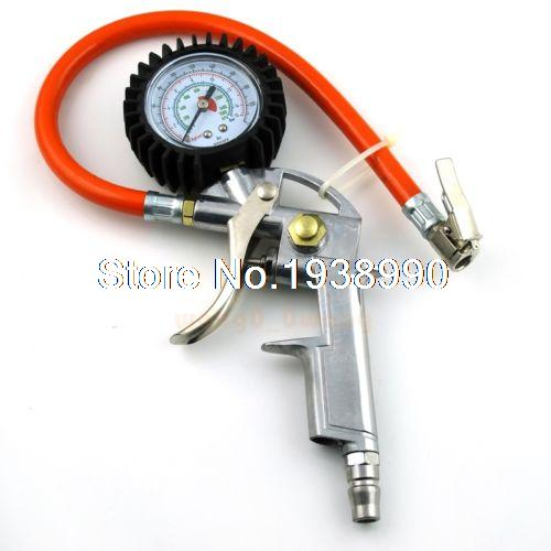 Air Tire Tyre Inflating Inflator Tool Pressure Gauge for Car Truck Motorcycle 0 100 psi tire air pressure gauge meter tester for car truck motorcycle 0 7kg cm2