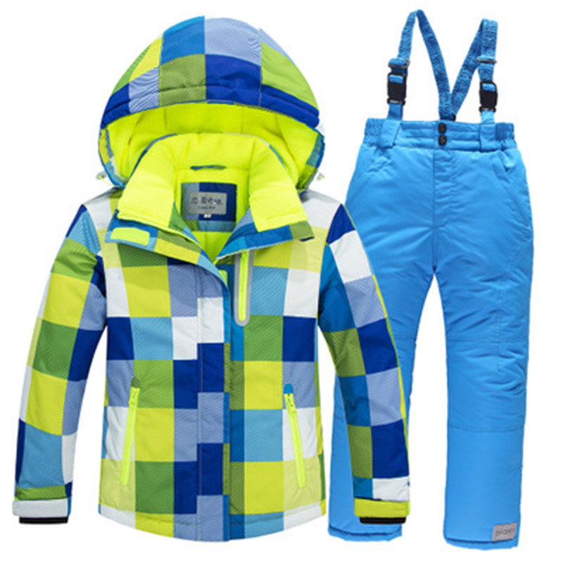 Details about Children Snow Suit Ski Coats Snowboarding Clothing Waterproof  Thermal Jacket 22928582b