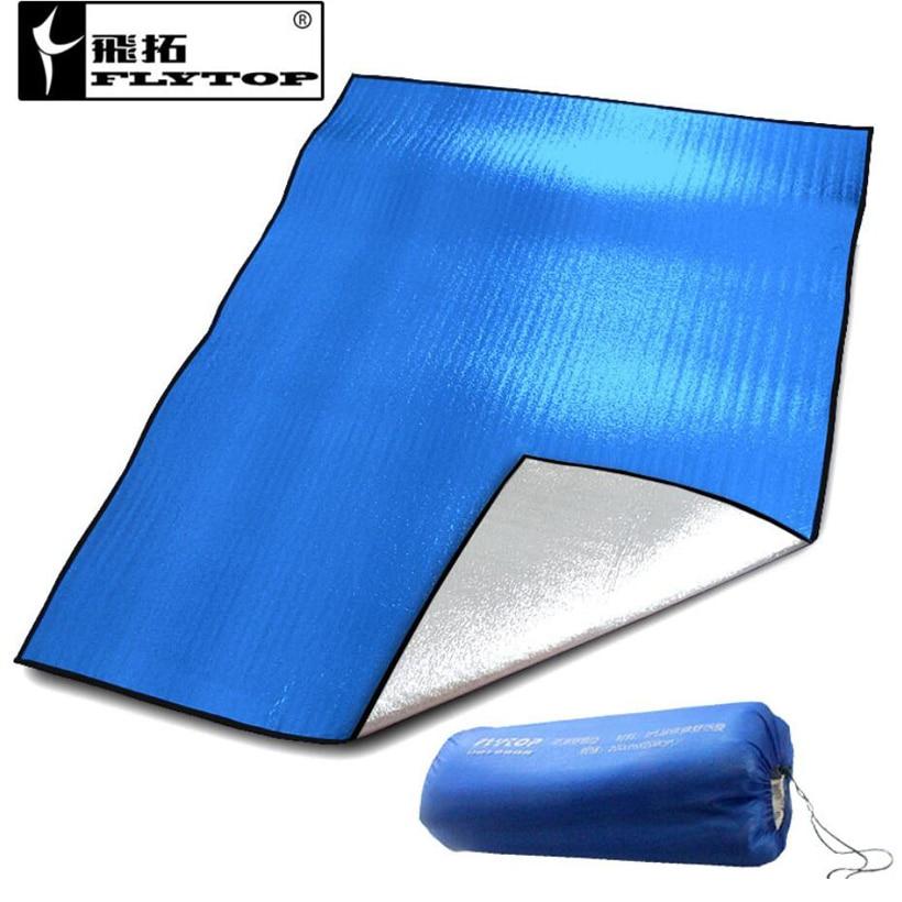Двустранен алуминиев филм Свръхлакотен къмпинг Матрак за пикник Палатка Аксесоари Оборудване за пикник Водоустойчив спален мат
