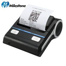 Milestone Android POS Printer Thermal Receipt Printer MHT-P8001 Support IOS Windows Pad Billing Machine Mini Phone Printer milestone 80mm thermal printer bluetooth android pos receipt bill printer printing machine mht p8001 for small business computer