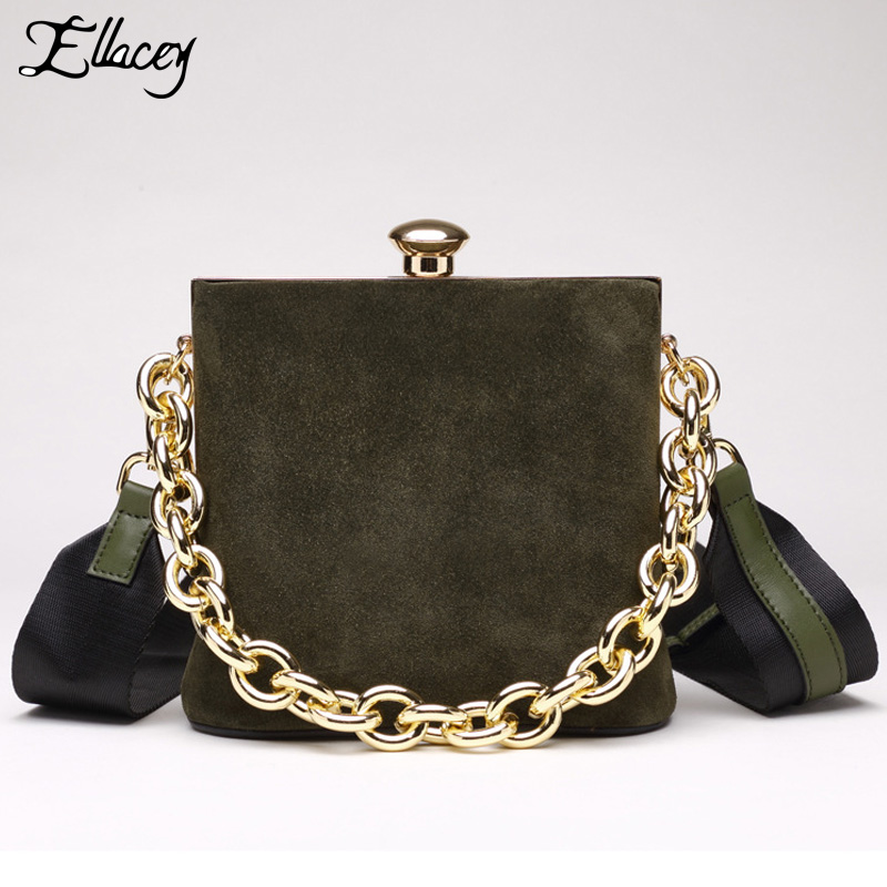 Famous Brand Solid Crossbody Bag Chain Genuine Leather Small Bag Ladies Handbag Single Shoulder Bag Simple Clip Lock Clutch Bag 2017 women bag cowhide genuine leather fashion folding handbag chain shoulder bag crossbody bag handbag party clutch long wallet