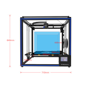 Image 2 - Tronxy X5SA 400 3D Printer DIY Kit Support Auto Leveling Resume Printing Filament Run Out Detection 400*400*400mm 8GB TF Card