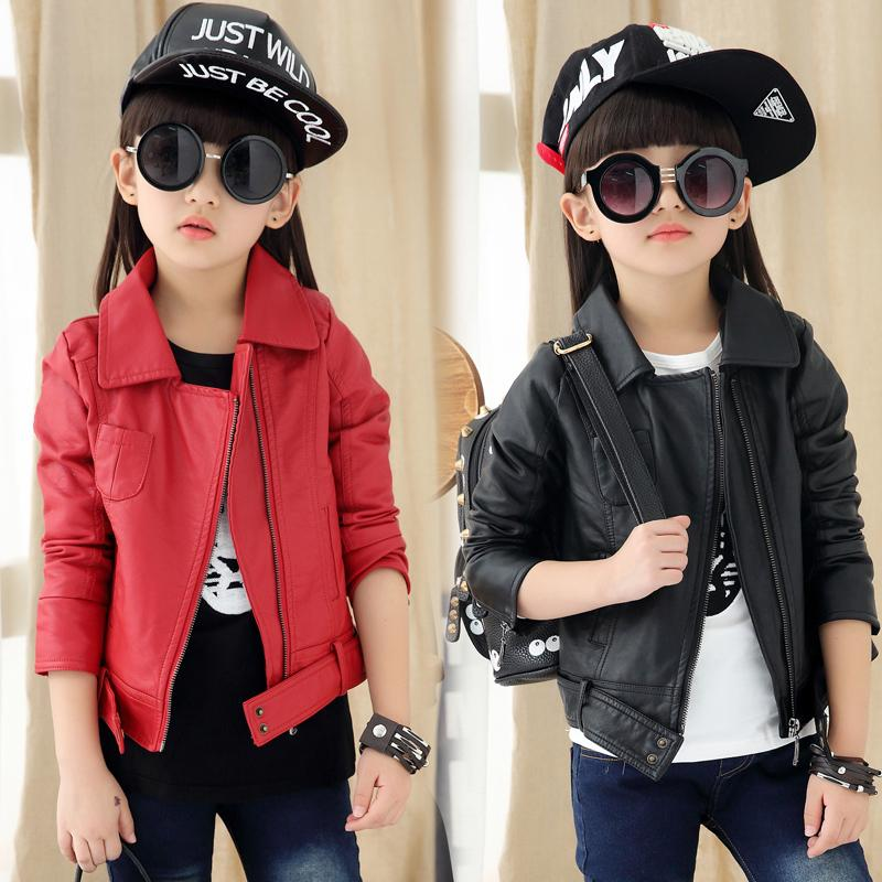 Aliexpress.com : Buy Girls Direct Selling New Leather Jacket ...