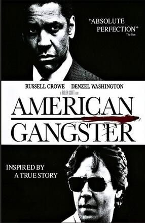 American Gangster Movie Art Wall Decor Silk Print Poster image