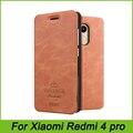 Para xiaomi redmi 4 pro tampa flip casos de couro pu mofi originais para xiaomi redmi 4 pro de alta qualidade livro estilo tampa do telefone celular