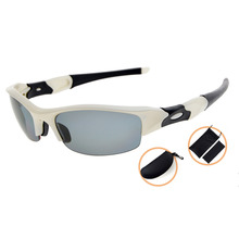TH6166 Eyekepper TR90 Unbreakable Sports Polycarbonate Half-Rimless Polarized Sunglasses