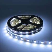 5M no impermeable 5050 3528 2835 tira de luz LED cinta 5M 300 LEDs cc 12V RGBW/Blanco/blanco cálido/rojo/Verde/azul/RGBWW/RGB cinta