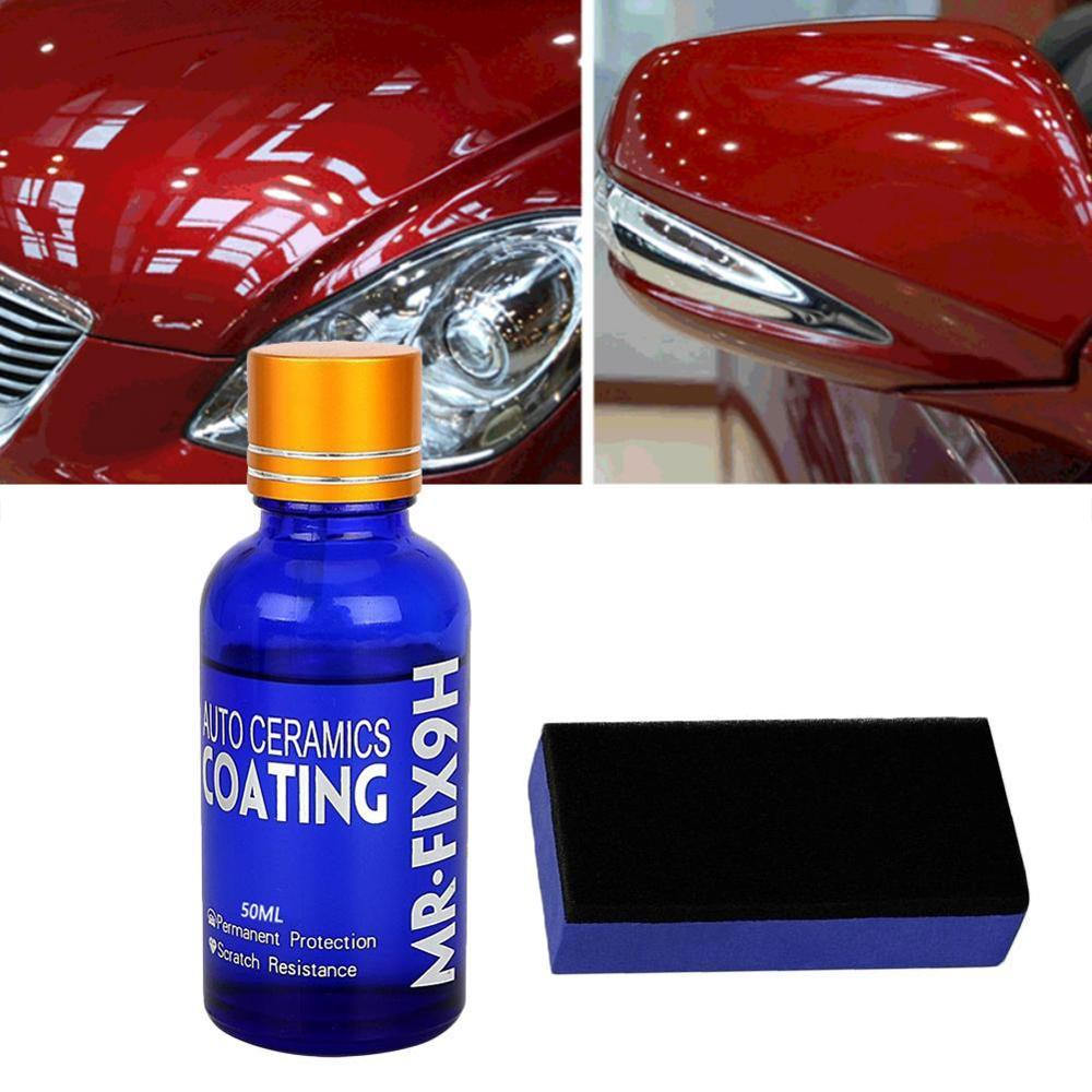 Universal 30ML 9H Hardness Car Super Hydrophobic Glass Coating Car Liquid Ceramic Coat Auto Paint Care Durability Anti-corrosion