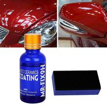 Buy Universal 30ML 9H Hardness Car super hydrophobic Glass Coating Car Liquid ceramic Coat Auto Paint Care Durability Anti-corrosion directly from merchant!