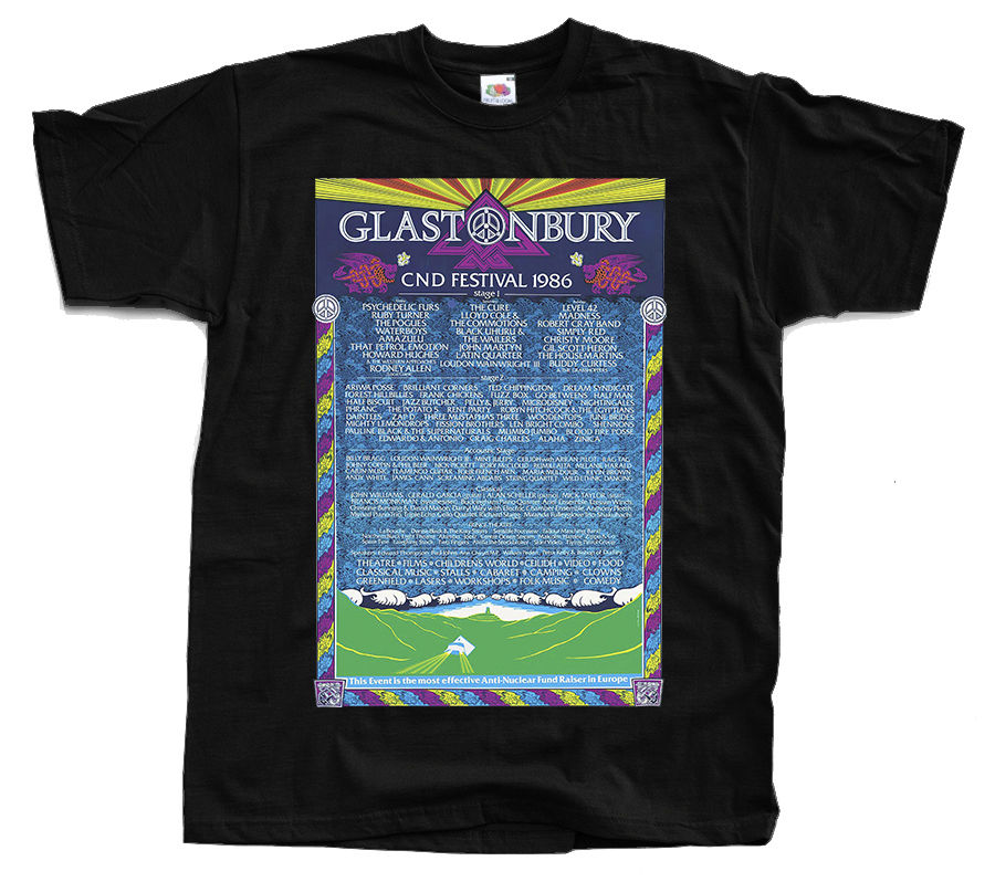 Femme Glastonbury T-shirt certainement le meilleur Festival in the world music Top
