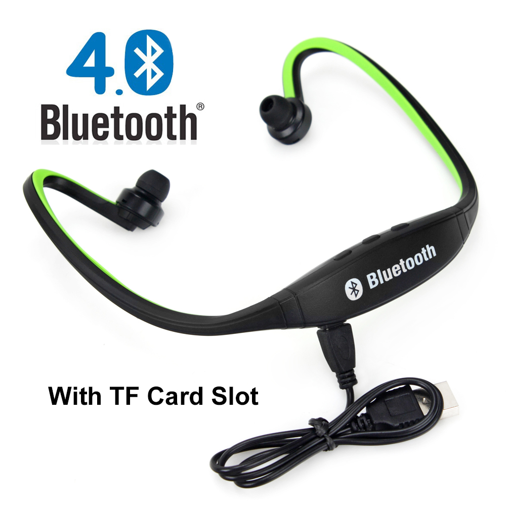 S9 Sport Wireless Bluetooth Headset Earphone Headphones support TF card For Android/IOS Mobile Phone xiaomi iphone Samsung PC