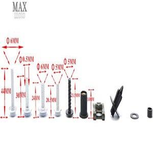 Image 5 - קטנועי אופנועים Fairing גוף עבודה ברגי אגוזי צריח מהירות אטב קליפים בורג עבור yamaha TMax500 tmax 500 TMax530 2009 2011