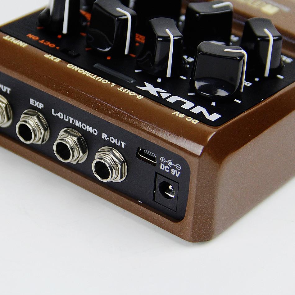 Gitaar Onderdelen en accessoires NUX Rotary Speaker-effecten - Muziekinstrumenten - Foto 5