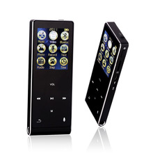 HIFI MP3 Player Bluetooth 8G screen Touch Key MP3 Music player speaker Sport with Pedo Meter Recorder E-Book Video with earphone