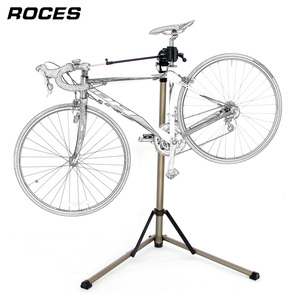 Image 2 - Aluminum Alloy Bike Repair Stand Professional Fixed Folding Home Mechanic Work Stand Adjustable Maintenance Storage Stand